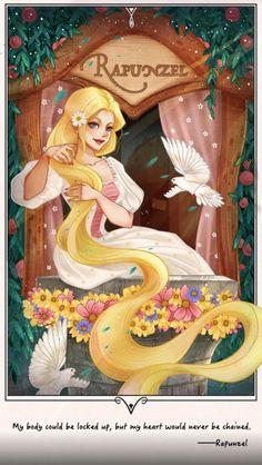 Rapunzel by princessmh on DeviantArt Film Disney, Disney Tangled, Disney Love, Disney Magic, Disney Princess Art, Disney Fan Art, Anime Princess, Gothic Fantasy Art, Pretty Drawings