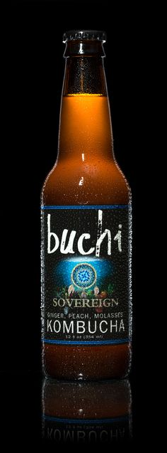 Craft brewed kombucha intentionally designed to raise money and awareness around the importance of Food Sovereignty. 5 cents from every bottle goes to support the Farm-to-Consumer Legal Defense Fund. To learn more about the intention behind Buchi Soveriegn, check out:   www.drinkbuchi.com/soveriegn  Ingredients: 95% raw kombucha infused with fresh pressed organic ginger, local peach juice and local sorghum molasses.