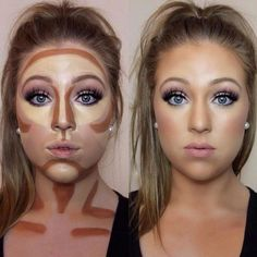 Easy contouring for beginners Image 1 - Makeup Secrets makeup kit, . Easy contouring for beginners Image 1 - Makeup Secrets makeup case, # MAKEUP # Secrets # TutorialfürGesichtsmakeup <-> Easy Contouring, Contouring For Beginners, Contouring And Highlighting, How To Contour For Beginners, How To Contour Your Face, How To Blend Contouring, Face Contouring Makeup, Makeup Products For Beginners, Contour Face