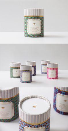 English Tea Packaging