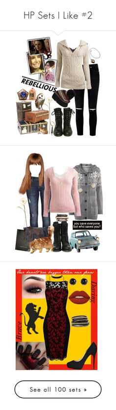 """""""HP Sets I Like #2"""" by kelseystan97 ❤ liked on Polyvore featuring art, H by Hudson, Abercrombie & Fitch, Lee, H&M, Wet Seal, Shabby Chic, ASOS, Lime Crime and Karen Millen"""