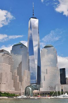 "#  MANHATTAN  #                 ""One World Trade Center"".                         New York City, USA."