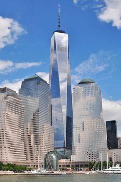 """#  MANHATTAN  #                 """"One World Trade Center"""".                         New York City, USA."""