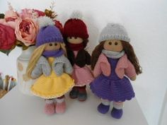Doll crochet # Part 1 - YouTube