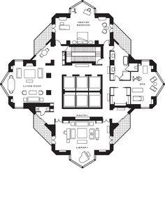 e591f5a683f9fdb491e51c1d8b15dd04--peter-marino-apartment-plans Trump Towers Manhattan Penthouses Floor Plan on trump tower chicago elevators, trump tower chicago rooms, trump tower chicago floor plans,