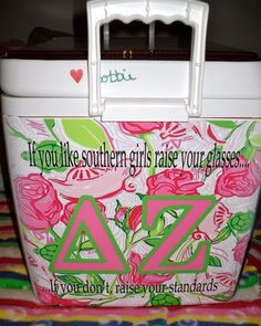 @Kaitlin Lyons we're making coolers this summer i hope you know that