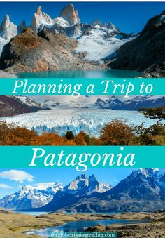 Planning a Trip to Patagonia-From El Calafate Argentina to El Chalten Argentina to Puerto Natales Chile and finishing in Ushuaia Argentina. Visit Argentina, Argentina Travel, South America Destinations, South America Travel, Cool Places To Visit, Places To Travel, Travel Destinations, Holiday Destinations, Machu Picchu