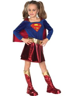 83f6da2835 supergirl child costume idea Halloween Ideas
