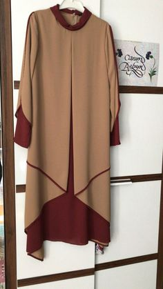 Abaya Fashion, Women's Fashion, Fashion Design, Kimono Top, Couture, Sewing, Detail, Wedding Dresses, How To Wear