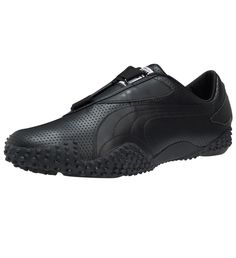 289d4e42749 PUMA Mostro Perforated Leather Shoes 35141302