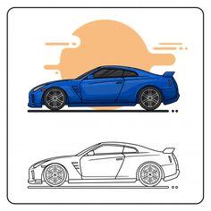 R35 Skyline Skyline, Cars, Digital, Sports, Projects, Blue, Collection, Hs Sports, Autos