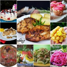"""Lea's Cooking: """"Summer Menu Ideas"""" This is a good selection of recipes for summer. I got all no bake desserts here and marinated salads. Here my BBQ recipes and sandwiches."""