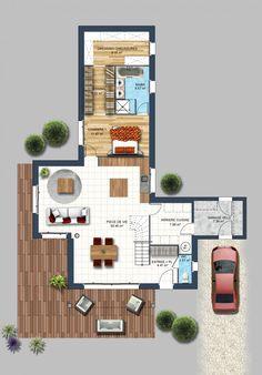 constructeur maison moderne bouaye loire atlantique 44 | Depreux Construction