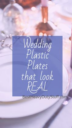 [2017] Best Heavy Duty Plastic Plates Reviews : real looking plastic plates - pezcame.com