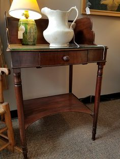 English serving station, $725.  Gaslamp Antiques booth B207.
