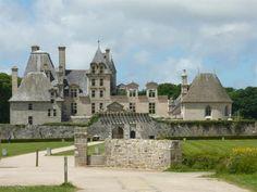 Château de Kerjean. Morlaix 29600. Bretagne.