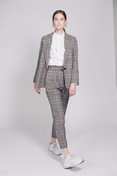 Binjo Blazer - Off White by Second Female Off White, Normcore, Coats, Blazer, Female, Style, Fashion, Moda, Wraps