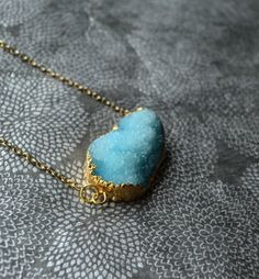 Hey, I found this really awesome Etsy listing at https://www.etsy.com/listing/177733569/aqua-blue-druzy-necklace-chunky-druzy