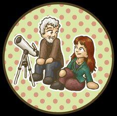 Wilfred and Donna by squidlarkin