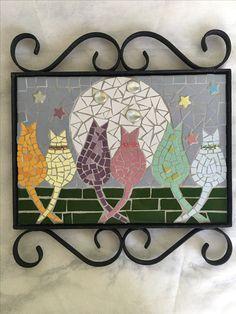 Mosaic Art, Mosaic Glass, Mosaic Tiles, Stained Glass, Mosaic Designs, Mosaic Patterns, Mosaic Animals, Mixed Media Art, Paper Art