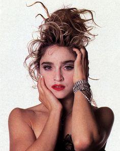 Madonna - Madonna Photo (1419390) - Fanpop 1980s Madonna, Madonna Rare, Lady Madonna, Mtv, Madonna Images, Madonna Pictures, Divas Pop, Madonna Costume, 80s Trends
