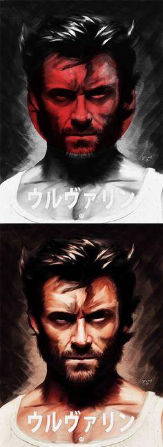 The Wolverine alternative poster - Digital Painting - Creattica