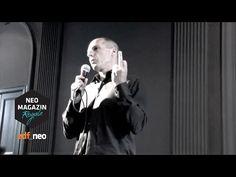 """-*+Jan Böhmermann behauptet, dass das """"Neo Magazin Royale"""" zusammen mit dem Subversive Festival Zagreb das """"Stinkefinger""""-Video von Varoufakis gefälscht hat. Im Original habe es keine ..."""