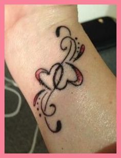 Heart tattoos designs are very lovely tattoo designs. Also find Heart Tattoo design on wrist, Heart tattoos designs on finger, Heart Tattoos designs simple. Small Finger Tattoos, Wrist Tattoos For Women, Tattoos For Women Small, Small Tattoos, Heart Tattoo Designs, Tattoo Designs For Girls, Small Tattoo Designs, Trendy Tattoos, New Tattoos