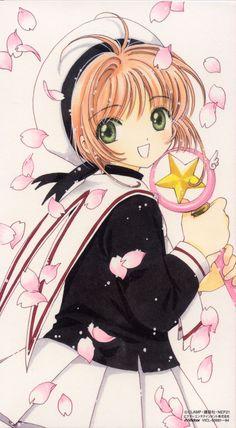 Sakura Kinomoto from Cardcaptor Sakura - My childhood's all-time favorite superhero.