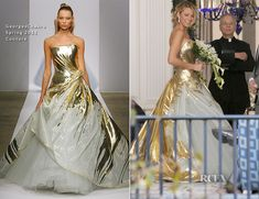 On The Set Of Gossip Girl With Blake Lively In Georges Chakra Couture