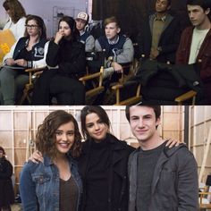"""Selena Gomez on the set of her Netflix show """"13 Reasons Why"""""""