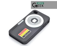 Case para Iphone 4/4S de Silicone 3D Sensacional, na Área Geek Store. -> http://on.fb.me/OvhFro