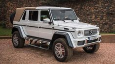 Mercedes-Maybach G650 Landaulet fetches record $1.4 million at auction.