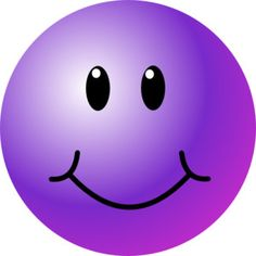 sharing a new collection of smileys and emoticons with you. In this collection, you will find many different types of smileys with different color and looks. Purple Day, Purple Love, All Things Purple, Shades Of Purple, Purple Stuff, Animated Smiley Faces, Smiley Emoticon, Happy Cartoon, Cartoon Faces