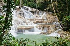 dunns river falls -can cross this off my bucket list now. Would do it again tomorrow.