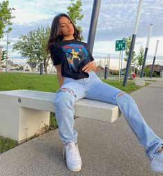 Indie Outfits, Teen Fashion Outfits, Retro Outfits, Cute Casual Outfits, Fashion Ideas, Comfy Teen Outfits, 90s Style Outfits, Stylish Outfits, Fashion Tips