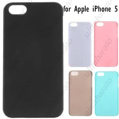 $4.59 - Snap-on Hard Case Protective Cover Shell for Apple iPhone 5 from UltraBarato Gadgets