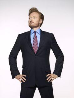 Conan O'Brien...I'll watch him wherever he is...wish he still had the beard....what can I say, I like the beard