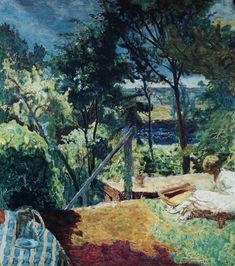 Терраса с видом на Вернон