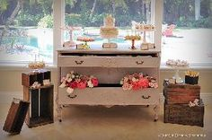 Ivory-pink-dessert-table | Tiny Delights
