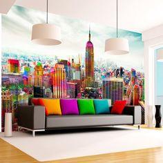 60 most elegant wall art ideas for living room makeover Bedroom Murals, Wall Murals, Wall Art, Paneling Makeover, Office Interiors, House Colors, Wall Design, Room Decor, Interior Design
