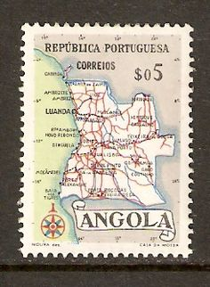 Angola #386 MLH (1955) - bidStart (item 16529595 in Stamps, Africa, Angola)