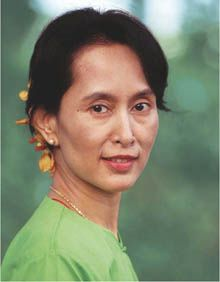 Aung San Suu Kyi is the General Secretary of the National League for Democracy in Burma. She was placed under house arrest for 15 years due to her political dissidence. Like the Dalai Lama and Thich Nhat Hanh, she plays a vital role in modern Buddhist reform, which calls for engaged political action. In 1991 she won the Nobel Peace Prize for her struggle for democracy and human rights.