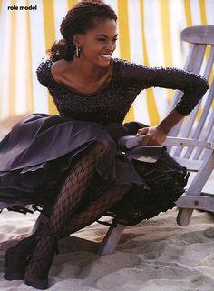 Karen Alexander, US Vogue, November 91 Patrick Demarchelier.