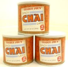 Trader Joe's Spicy Chai mix... sooooooooooooo tasty...