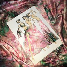 Playing with pure silk satin  #fashion #art #designer #fashiondesigner #bellydance #costume #costumedesigner #puresilk