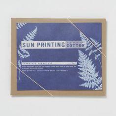 Terrain Sun Printing Kit, Cotton #shopterrain