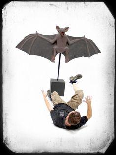 Giant Halloween Pig Bat Prop | Halloween Party Theme | Halloween Party Theming Hire | Event Prop Hire
