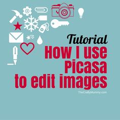 Read my ultimate guide on how I use a free program from Google called Picasa to edit my photos ready for use on my blog.