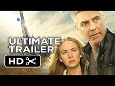 Tomorrowland Ultimate Utopia Trailer (2015) - George Clooney, Britt Robertson Movie HD - YouTube